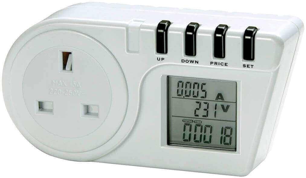 Plug In Watt Hour Meter : Portable energy monitors newfound ltd
