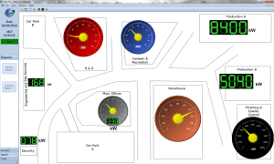 AtlasEVO Energy Dashboard Site Plan Example