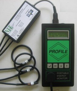 Profile Portable 3 Phase Energy Monitor Photo