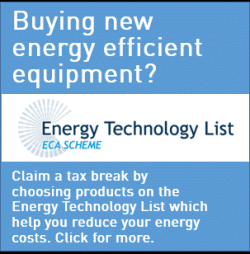 The Energy Technology List (ETL) & ECA Scheme