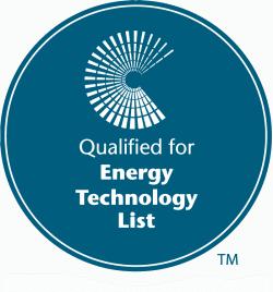 Qualified for the Enhanced Capital Allowance Scheme & The Energy Technology List