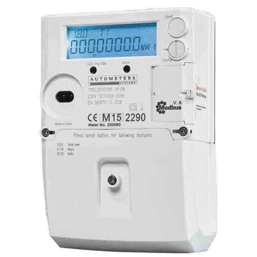 Nz Single Phase Smart Meter : Electricity meters smart newfound energy ltd