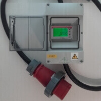 Small photo of Inline 3 Phase Electricity Meter